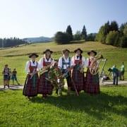Viehscheid Nesselwang Allgäu Harmoniemusik